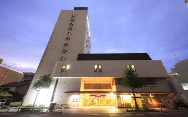 Отель Quintessa Hotel Ogaki Япония, Огаки - отзывы, цены и фото номеров - забронировать отель Quintessa Hotel Ogaki онлайн вид на фасад