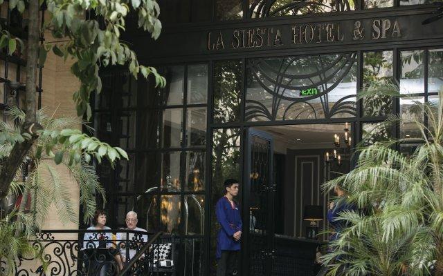 Отель Hanoi La Siesta Central Hotel & Spa Вьетнам, Ханой - отзывы, цены и фото номеров - забронировать отель Hanoi La Siesta Central Hotel & Spa онлайн вид на фасад