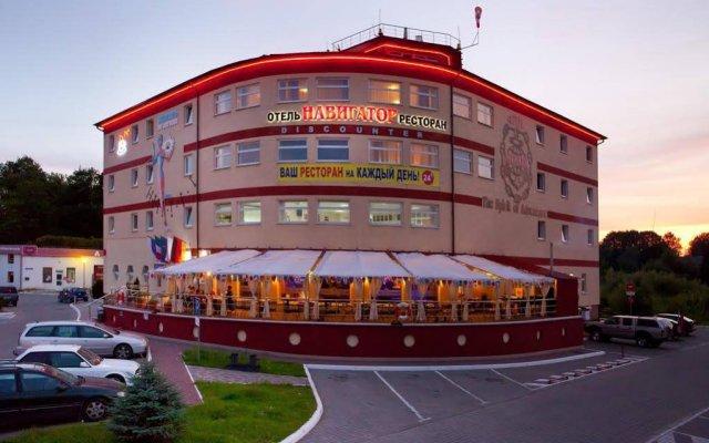 Гостиница Навигатор в Калининграде 6 отзывов об отеле, цены и фото номеров - забронировать гостиницу Навигатор онлайн Калининград вид на фасад