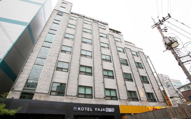 Отель KOTEL YAJA sadang art gallery вид на фасад