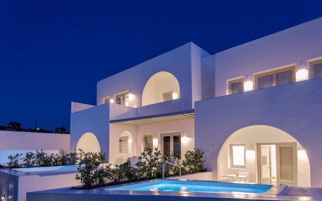Отель Alti Santorini Suites Греция, Остров Санторини - отзывы, цены и фото номеров - забронировать отель Alti Santorini Suites онлайн вид на фасад