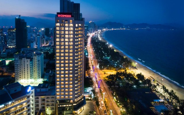 Comodo Nha Trang Hotel вид на фасад