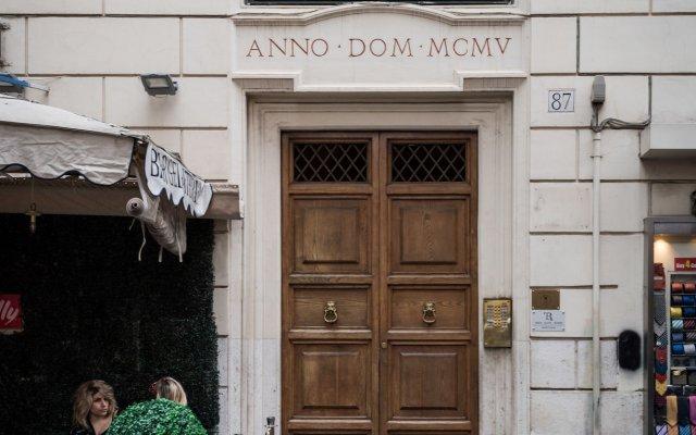 Отель Trevi Elite Rome вид на фасад