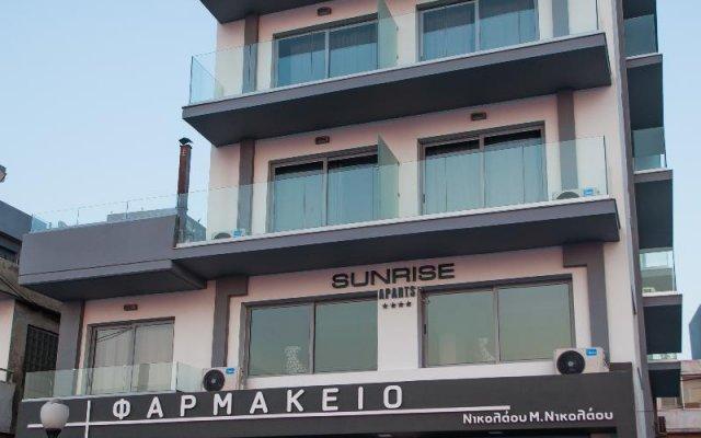 Отель Sunrise apartments rodos Греция, Родос - отзывы, цены и фото номеров - забронировать отель Sunrise apartments rodos онлайн вид на фасад