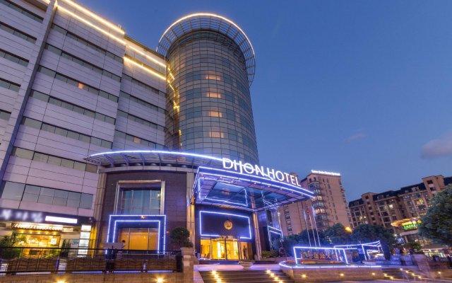 Dijon Hotel Shanghai Hongqiao Airport вид на фасад