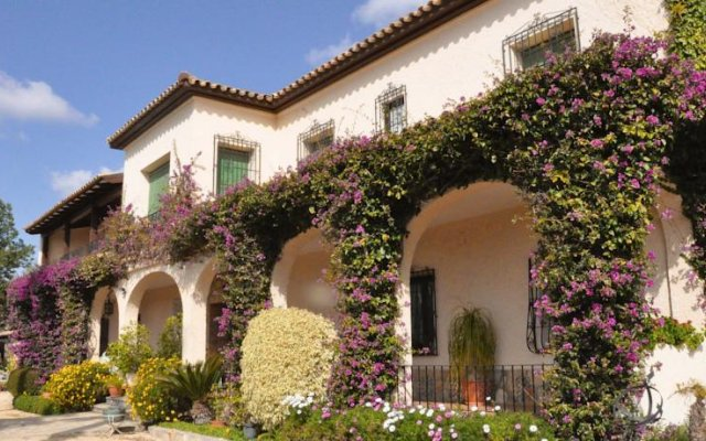 Отель Casa Rural El Retiro вид на фасад