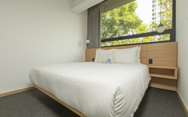 Отель Be Mate Condesa Мехико комната для гостей