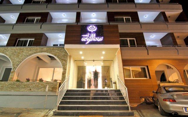 Achilleos City Hotel вид на фасад