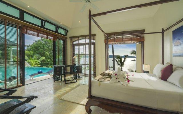 Отель Beach Front Luxury Villa Hai Leng Таиланд, пляж Панва - отзывы, цены и фото номеров - забронировать отель Beach Front Luxury Villa Hai Leng онлайн комната для гостей