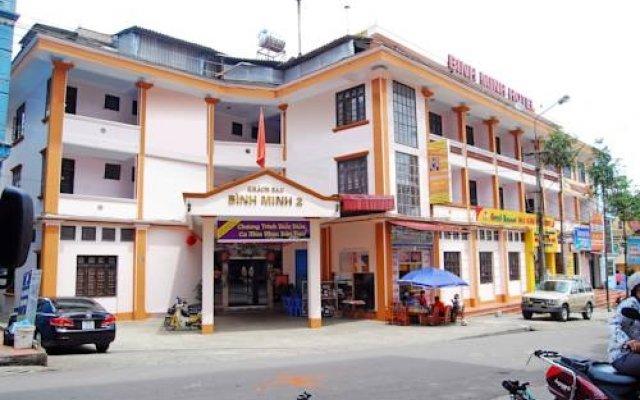 Отель Binh Minh 2 Sapa Hotel Вьетнам, Шапа - отзывы, цены и фото номеров - забронировать отель Binh Minh 2 Sapa Hotel онлайн вид на фасад