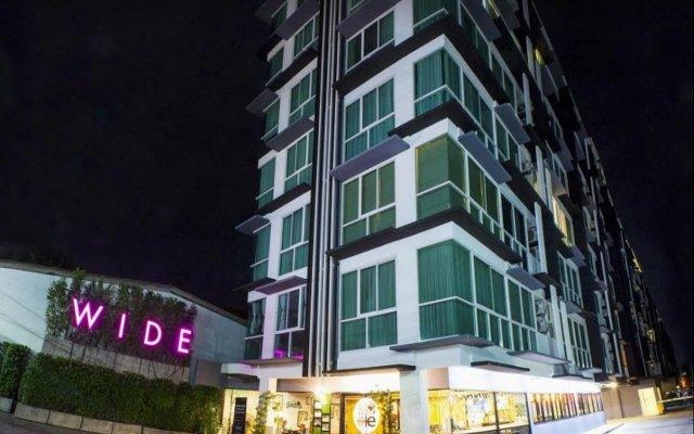 Отель The Wide Condotel Phuket Пхукет вид на фасад