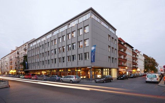 Smart Stay Hotel Berlin City Берлин вид на фасад