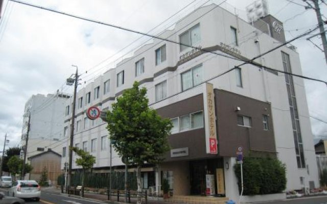 Okasan Hotel Огаки вид на фасад