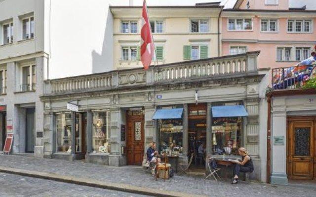 Отель Boutique Hotel Herzkammer Швейцария, Цюрих - отзывы, цены и фото номеров - забронировать отель Boutique Hotel Herzkammer онлайн вид на фасад
