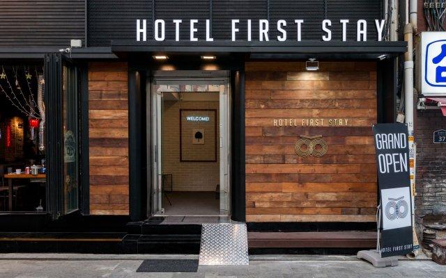 Отель First Stay Hotel Южная Корея, Сеул - отзывы, цены и фото номеров - забронировать отель First Stay Hotel онлайн вид на фасад