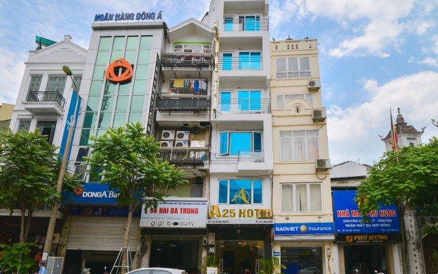 A25 Hotel - 96 Hai Ba Trung вид на фасад