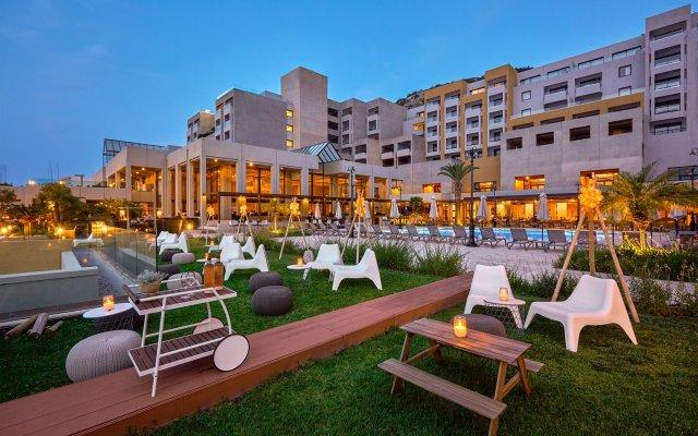 Отель Sheraton Rhodes Resort Греция, Родос - 1 отзыв об отеле, цены и фото номеров - забронировать отель Sheraton Rhodes Resort онлайн вид на фасад