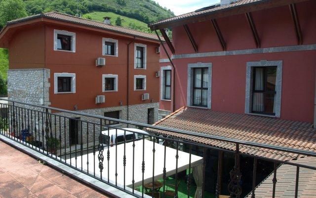 Hotel - Apartamentos Peña Santa вид на фасад