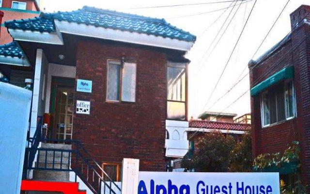Отель Alpha Guesthouse Seoul вид на фасад