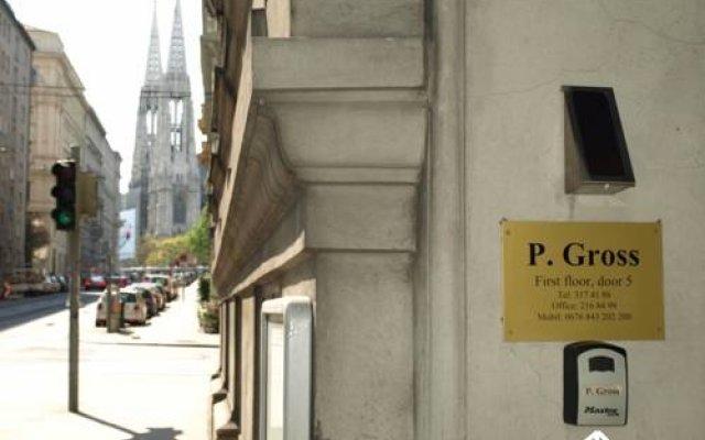 Отель Pension Gross Австрия, Вена - отзывы, цены и фото номеров - забронировать отель Pension Gross онлайн вид на фасад