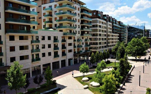 Отель Sun Resort Apartments Венгрия, Будапешт - 5 отзывов об отеле, цены и фото номеров - забронировать отель Sun Resort Apartments онлайн вид на фасад