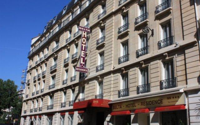 Belta Hotel вид на фасад