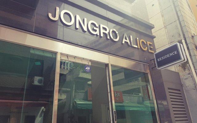 Отель Jongro Alice Южная Корея, Сеул - отзывы, цены и фото номеров - забронировать отель Jongro Alice онлайн вид на фасад