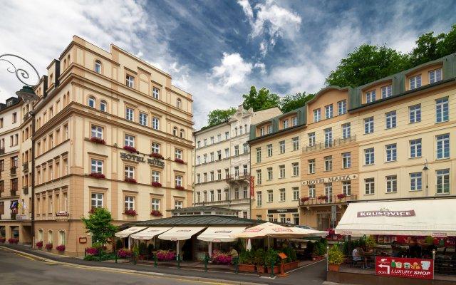 Hotel Ruze Карловы Вары вид на фасад