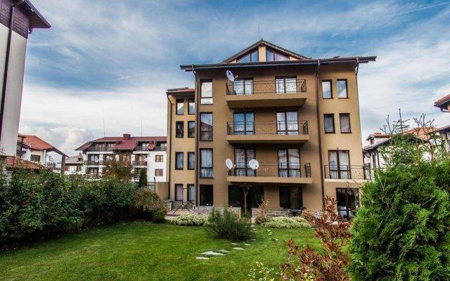 Отель Spomar Aparthotel Болгария, Банско - отзывы, цены и фото номеров - забронировать отель Spomar Aparthotel онлайн вид на фасад