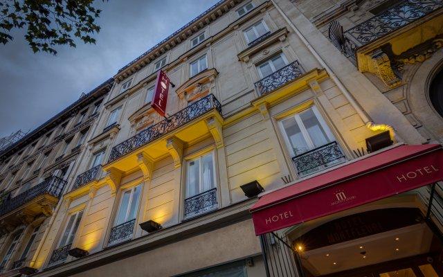 Отель Montfleuri Hotel Франция, Париж - 1 отзыв об отеле, цены и фото номеров - забронировать отель Montfleuri Hotel онлайн вид на фасад
