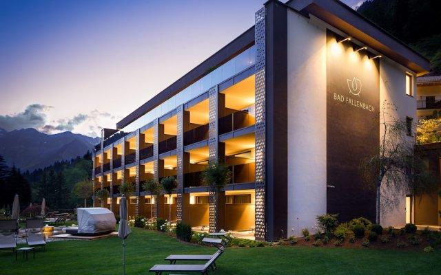 Hotel Bad Fallenbach Горнолыжный курорт Ортлер вид на фасад