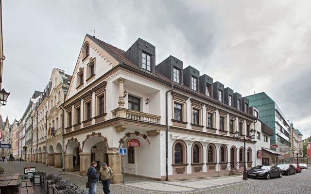 Отель RADNICE Либерец вид на фасад