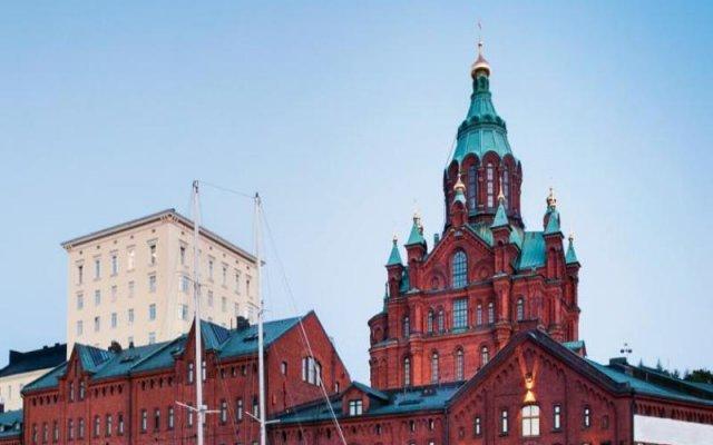 Отель Hellsten Helsinki Senate вид на фасад