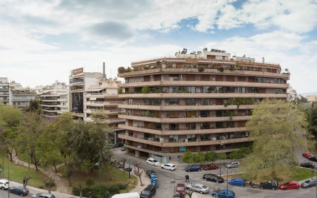 Delice Hotel Apartments вид на фасад