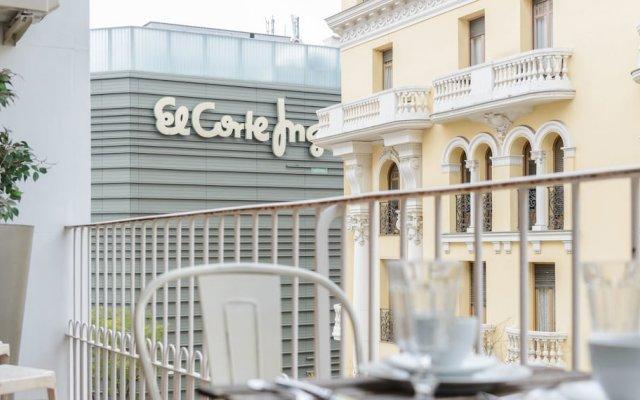 Отель Charming Goya Luxury Испания, Мадрид - отзывы, цены и фото номеров - забронировать отель Charming Goya Luxury онлайн вид на фасад