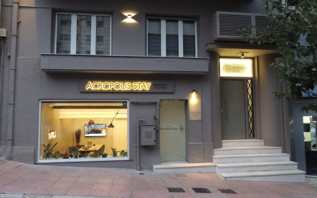 Отель Acropolis Stay вид на фасад