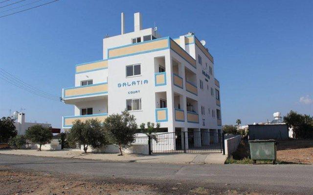 Отель Galatia's Court Кипр, Пафос - отзывы, цены и фото номеров - забронировать отель Galatia's Court онлайн вид на фасад