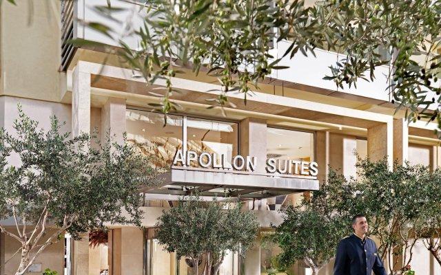 Отель Divani Apollon Suites Афины вид на фасад