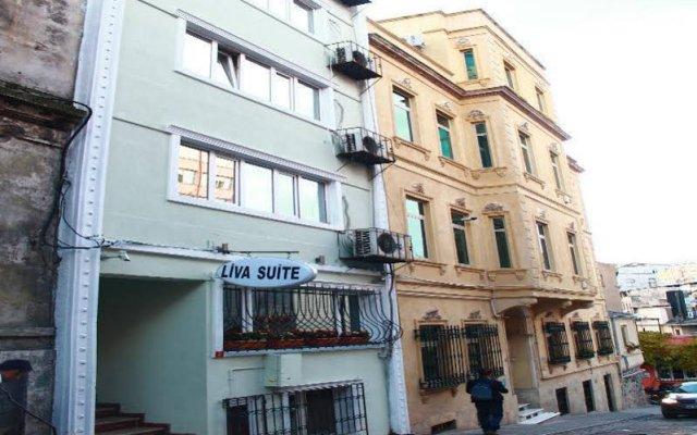 Отель Liva Suite вид на фасад