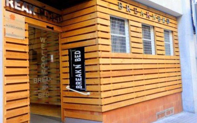Отель Break N Bed вид на фасад