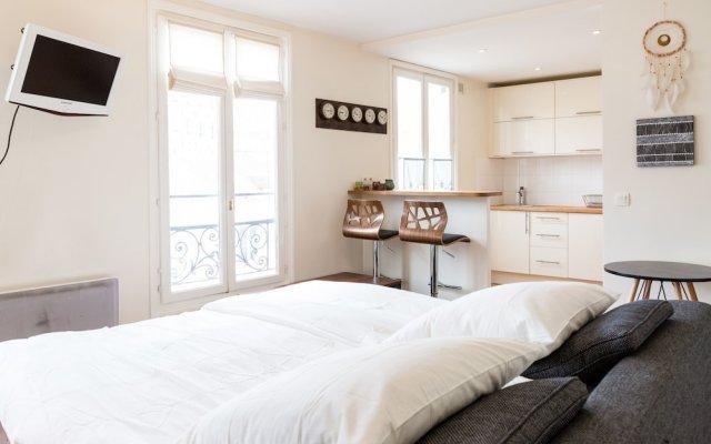 Апартаменты Studio Rue Lepic Париж комната для гостей