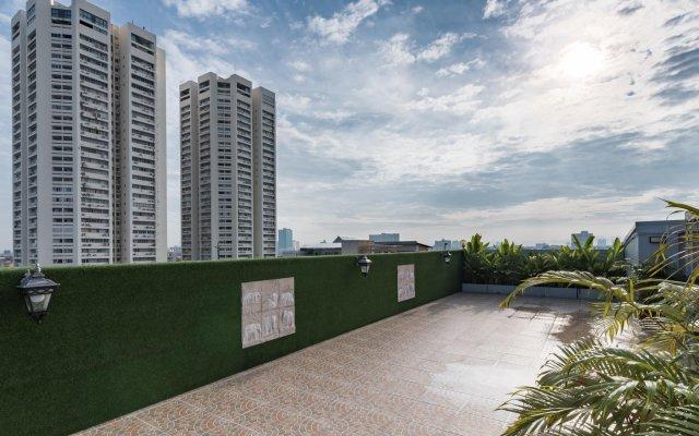 Отель United Residence Таиланд, Бангкок - отзывы, цены и фото номеров - забронировать отель United Residence онлайн вид на фасад