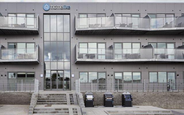 Отель Athome Apartments Дания, Орхус - отзывы, цены и фото номеров - забронировать отель Athome Apartments онлайн вид на фасад