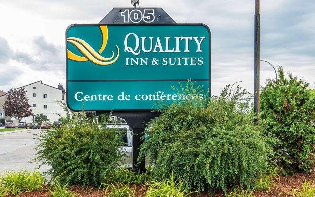 Отель Quality Inn & Suites & Conference Centre Канада, Гатино - отзывы, цены и фото номеров - забронировать отель Quality Inn & Suites & Conference Centre онлайн вид на фасад