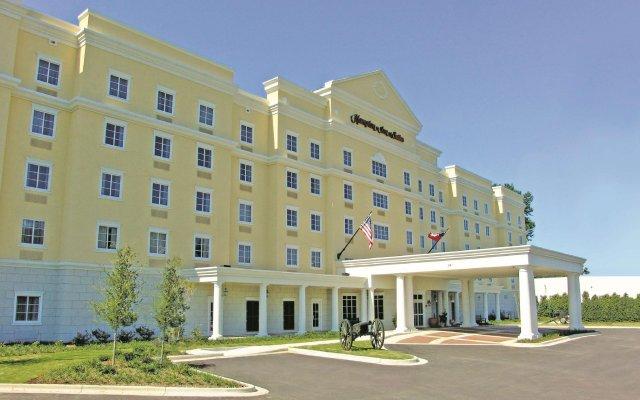 Отель Hampton Inn Vicksburg вид на фасад