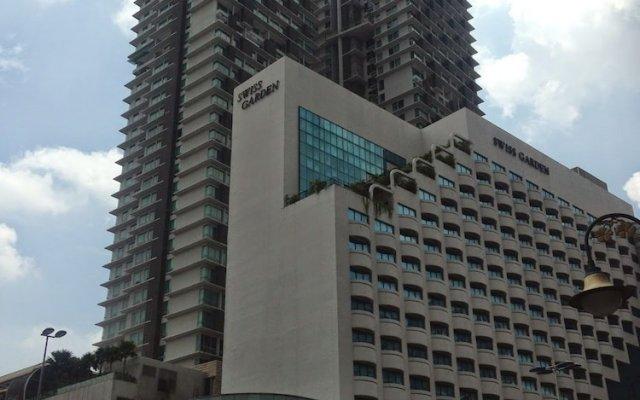 Отель Tawassil Suites @ Swiss Garden Малайзия, Куала-Лумпур - отзывы, цены и фото номеров - забронировать отель Tawassil Suites @ Swiss Garden онлайн вид на фасад