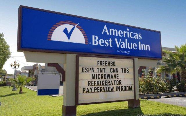 Отель Americas Best Value Inn-Milpitas/Silicon Valley вид на фасад