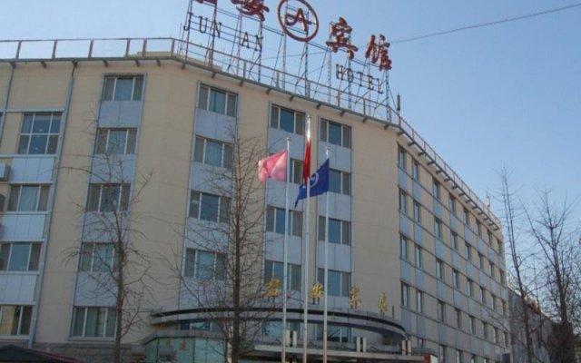 Beijing Jun An Hotel вид на фасад