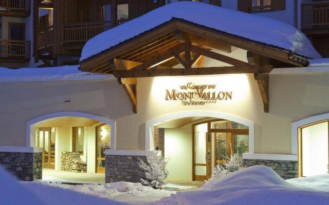 Отель Le Chalet du Mont Vallon Spa Resort вид на фасад