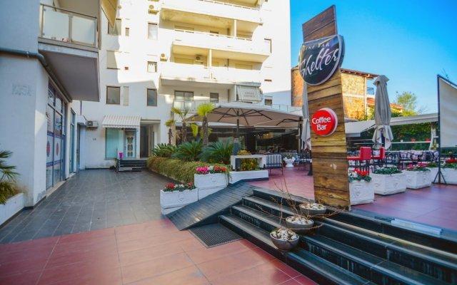 Отель Suite AIOALBANIA Trilo Bibagni Тирана вид на фасад